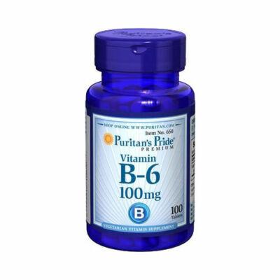 Puritan's Pride Vitamin B-6 100mg (100 tabletta)