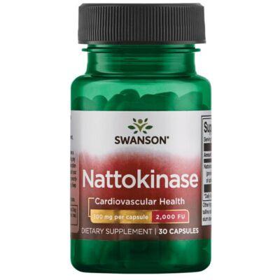 Swanson Nattokinase (nattokináz) 2000 FU 100 mg (30 kapszula)