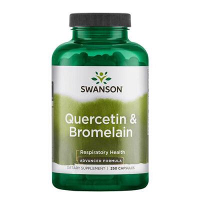 Swanson Quercetin & Bromelain (250 kapszula)