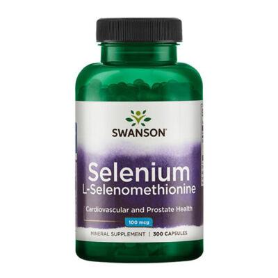 Swanson Selenium (L-szelenometionin) (300 kapszula)