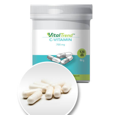 Vital Trend C-Vitamin 700 mg (120 kapszula)