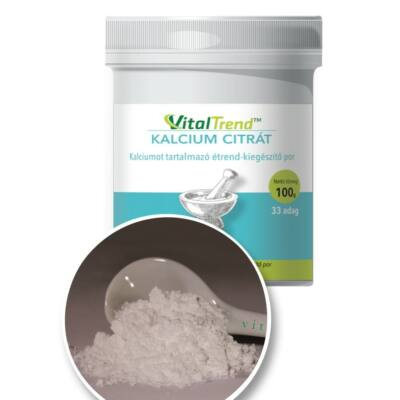 Vital Trend Kalcium-citrát por