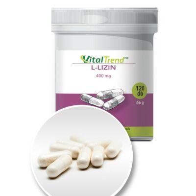 Vital Trend L-lizin 400 mg (120 kapszula)