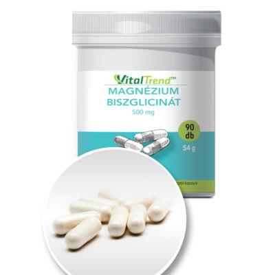Vital Trend Magnézium biszglicinát 500 mg (90 kapszula)