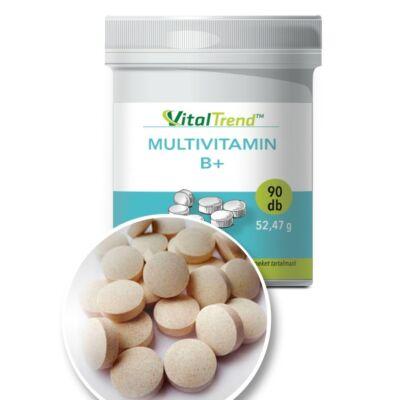 Vital Trend Multivitamin B+ (90 tabletta)