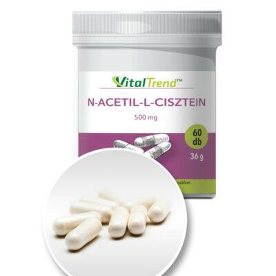 Vital Trend N-acetil-L-cisztein (NAC) 500mg (60 kapszula)