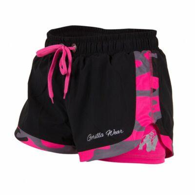 Gorilla Wear Denver Shorts (fekete/pink)