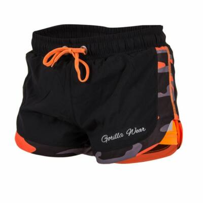 Gorilla Wear Denver Shorts (fekete/narancs)