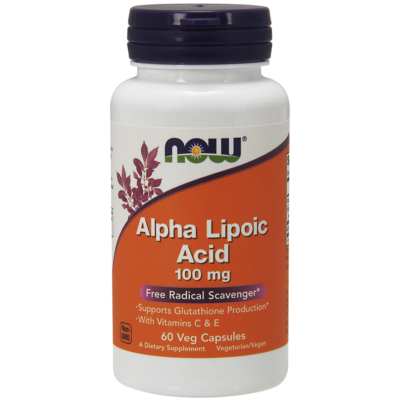 NOW Foods Alpha Lipoic Acid 100mg (60 kapszula)