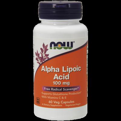 NOW Foods Alpha Lipoic Acid 100mg (60 kapszula)