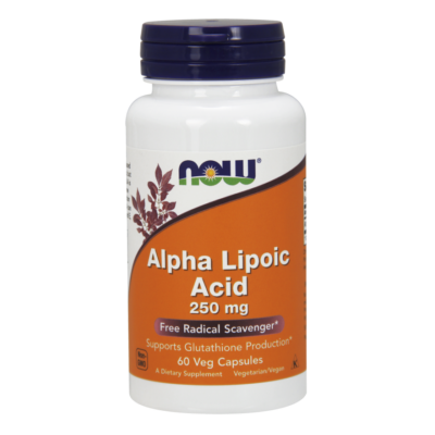 NOW Foods Alpha Lipoic Acid 250mg (60 kapszula)