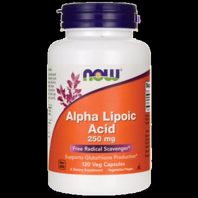 NOW Foods Alpha Lipoic Acid 250mg (120 kapszula)