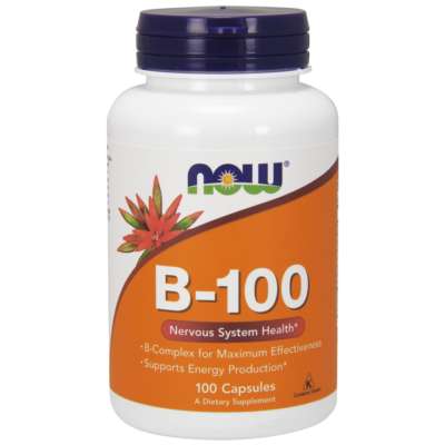 NOW Foods Vitamin B-100 (100 kapszula)