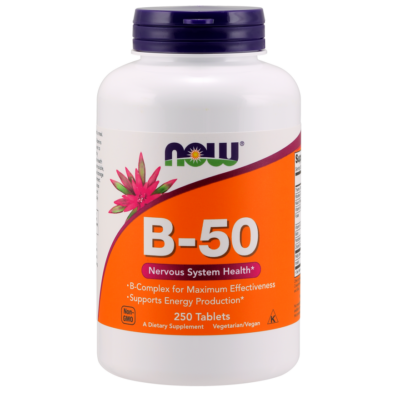 NOW Foods Vitamin B-50 (250 tabletta)
