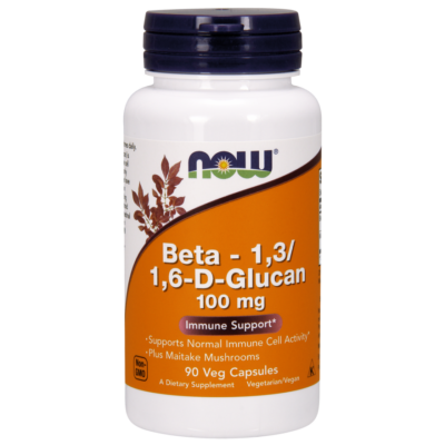 NOW Foods Beta 1,3/1,6-D-Glucan 100mg (90 kapszula)