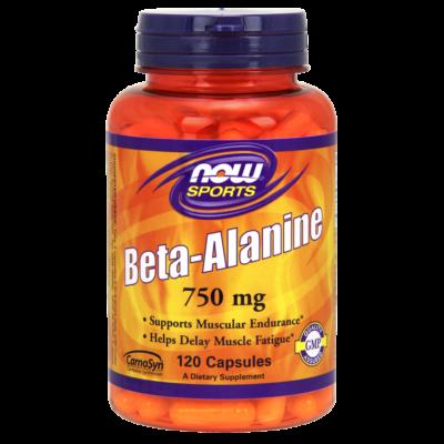 NOW Foods Beta-Alanine 750mg (120 kapszula)