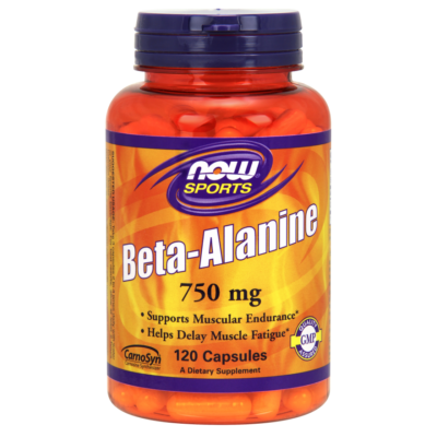 NOW Foods Beta-Alanine 750mg (120 kapszula)