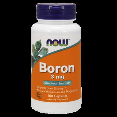 NOW Foods Boron 3mg (100 kapszula)