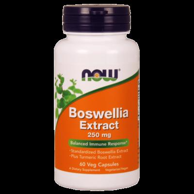 NOW Foods Boswellia Extract 250mg (60 kapszula)