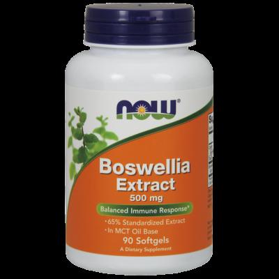 NOW Foods Boswellia Extract 500mg (90 lágy kapszula)