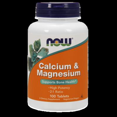 NOW Foods Calcium & Magnesium (100 tabletta)