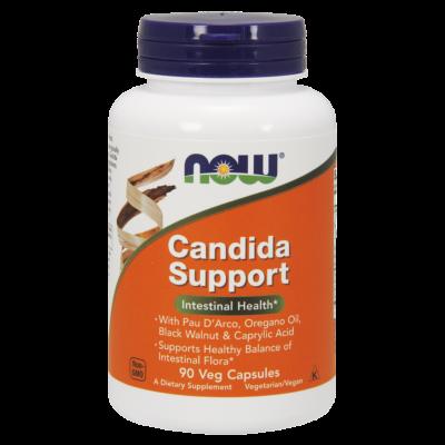 NOW Foods Candida Support (90 kapszula)