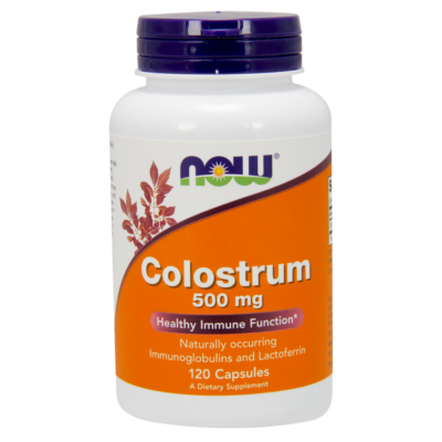 NOW Foods Colostrum 500mg (120 kapszula)