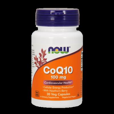 NOW Foods COQ10 100mg (30 kapszula)