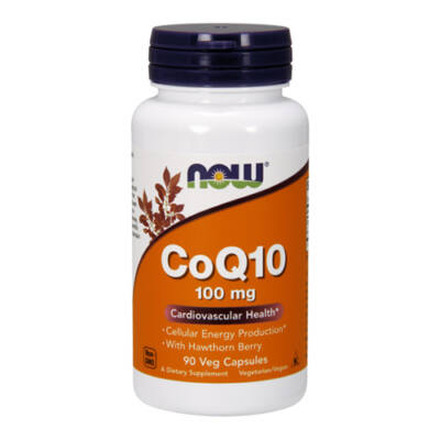 NOW Foods COQ10 100mg (90 kapszula)