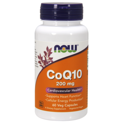NOW Foods COQ10 200mg (60 kapszula)