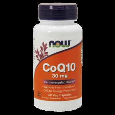 NOW Foods COQ10 30mg (60 kapszula)