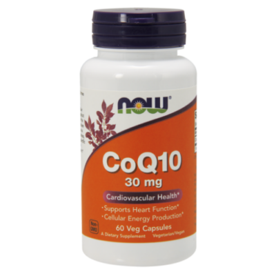 NOW Foods COQ10 30mg (60 kapszula)