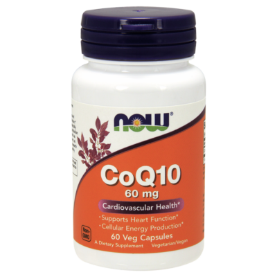 NOW Foods CoQ10 60mg (60 kapszula)