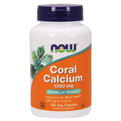 NOW Foods Coral Calcium 1000 mg (100 kapszula)