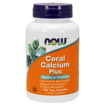 NOW Foods Coral Calcium Plus (100 kapszula)