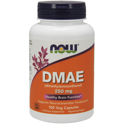 NOW Foods DMAE 250mg (100 kapszula)