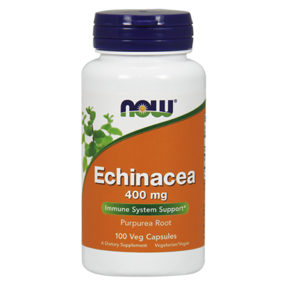 NOW Foods Echinacea 400mg (100 kapszula)