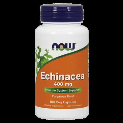 NOW Foods Echinacea 400mg (100 kapszula)