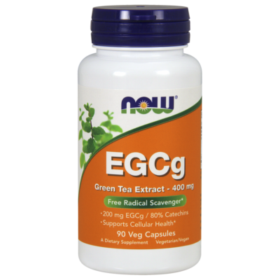 NOW Foods EGCg Green Tea Extract 400mg (90 kapszula)