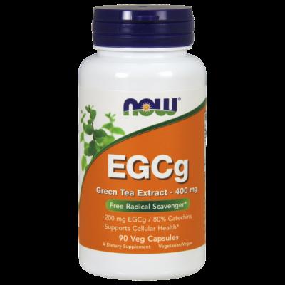 NOW Foods EGCg Green Tea Extract 400mg (90 kapszula)