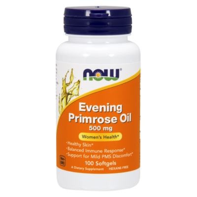 NOW Foods Evening Primrose Oil 500mg (100 lágy kapszula)