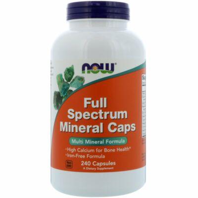 NOW Foods Full Spectrum Mineral Caps (240 kapszula)