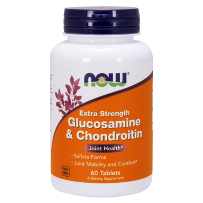 NOW Foods Glucosamine & Chondroitin Extra Strength (60 tabletta)