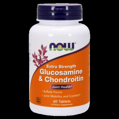 NOW Foods Glucosamine & Chondroitin Extra Strength (60 tabletta)