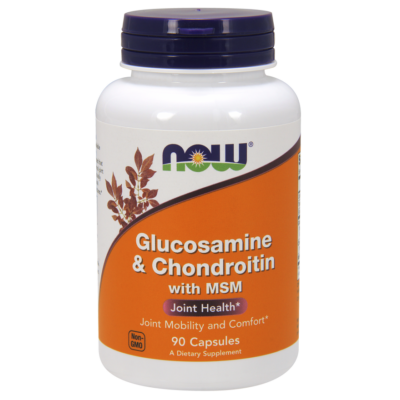 NOW Foods Glucosamine & Chondroitin with MSM (90 kapszula)