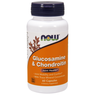 NOW Foods Glucosamine & Chondroitin with Trace Minerals (60 kapszula)