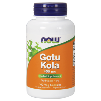 NOW Foods Gotu Kola 450mg (100 kapszula)