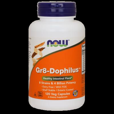 NOW Foods Gr8-Dophilus™ (120 kapszula)