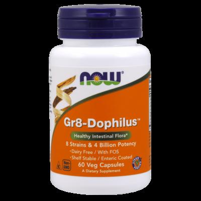 NOW Foods Gr8-Dophilus™ (60 kapszula)