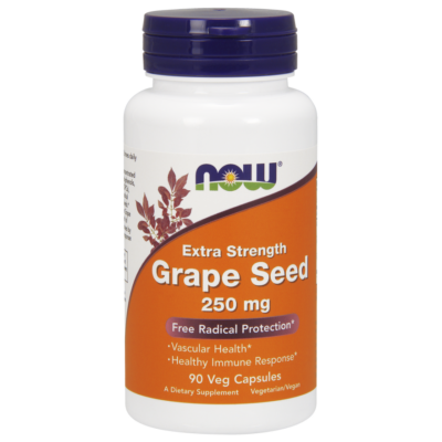 NOW Foods Grape Seed 250mg (90 kapszula)
